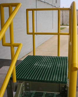 FRP Handrails & Railings Systems